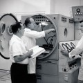 1961–ROCKETDYNE PRESSURE TANK TEST SETUP–1