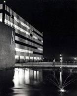 Dave Mathias photographed this night view of the General Dynamics headquarters at San Diego.